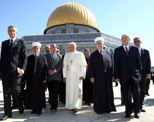 Pope on Temple Mount